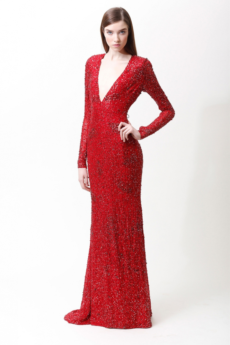 Badgley Mischka Pre-Fall 2013 #17