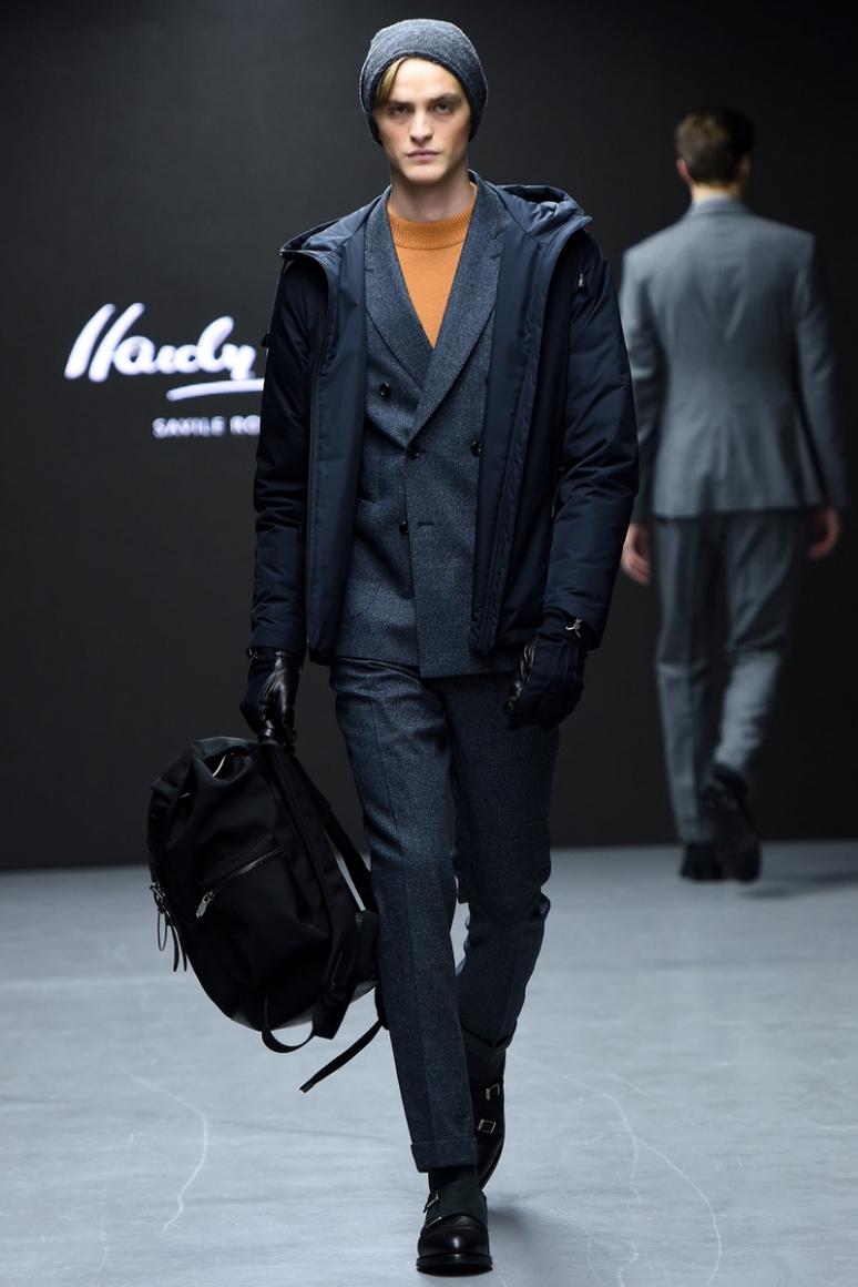 Hardy Amies Menswear осень-зима 2015/2016 #19