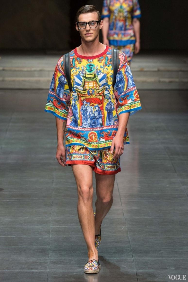 Dolce & Gabbana Menswear весна-лето 2016 #6