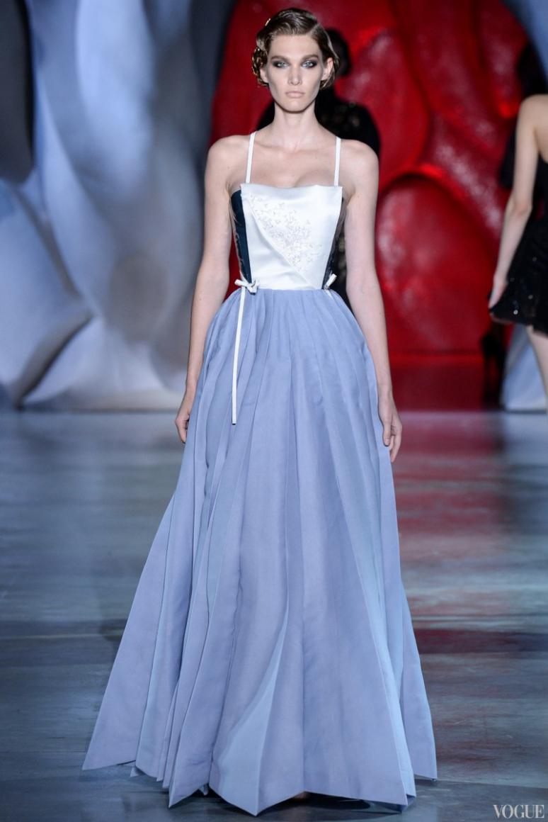 Ulyana Sergeenko Couture осень-зима 2014/2015 #6