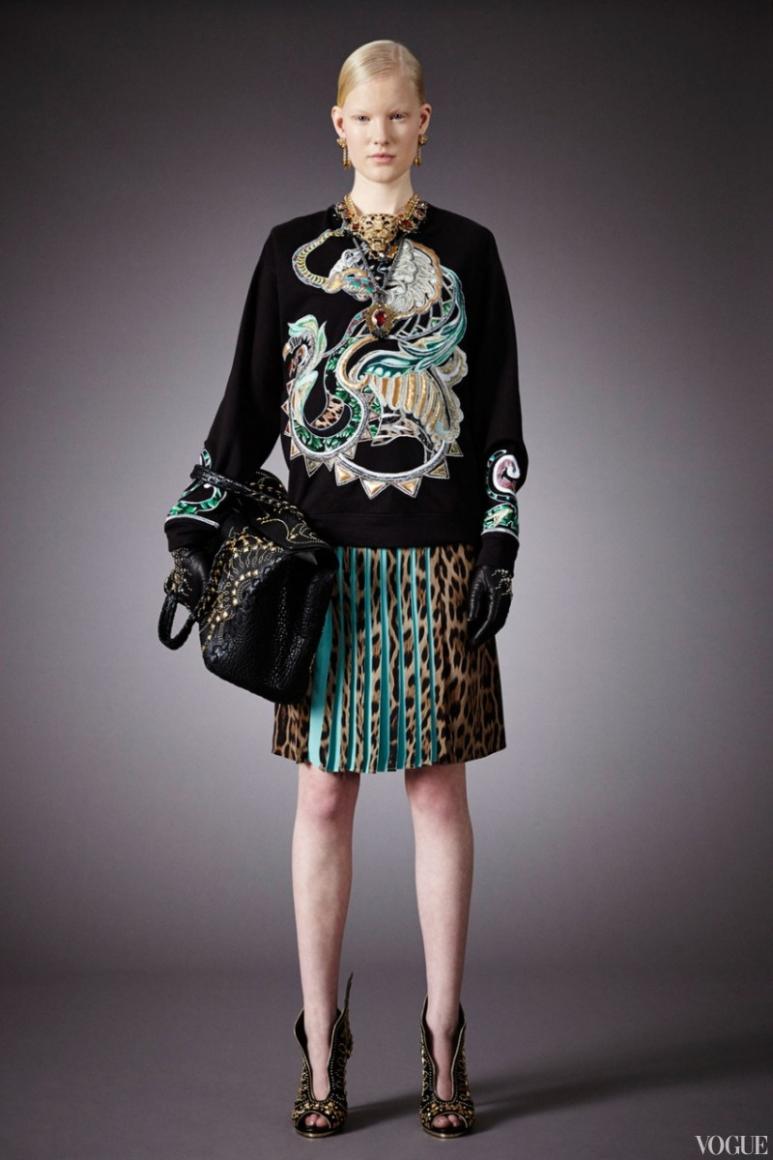 Roberto Cavalli Couture весна-лето 2013 #5