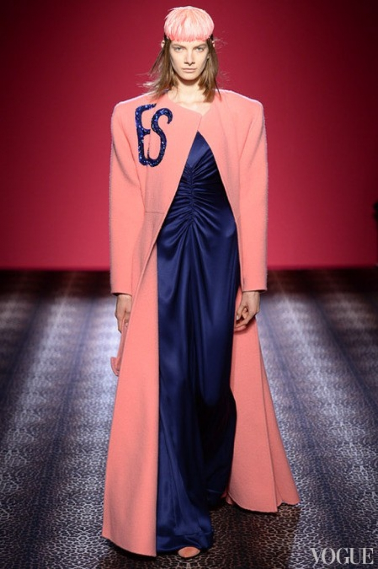 Schiaparelli Couture осень-зима 2014/2015 #19