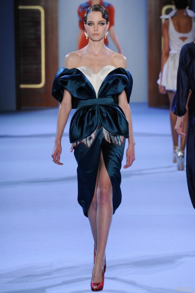 Ulyana Sergeenko Couture весна-лето 2014 #32