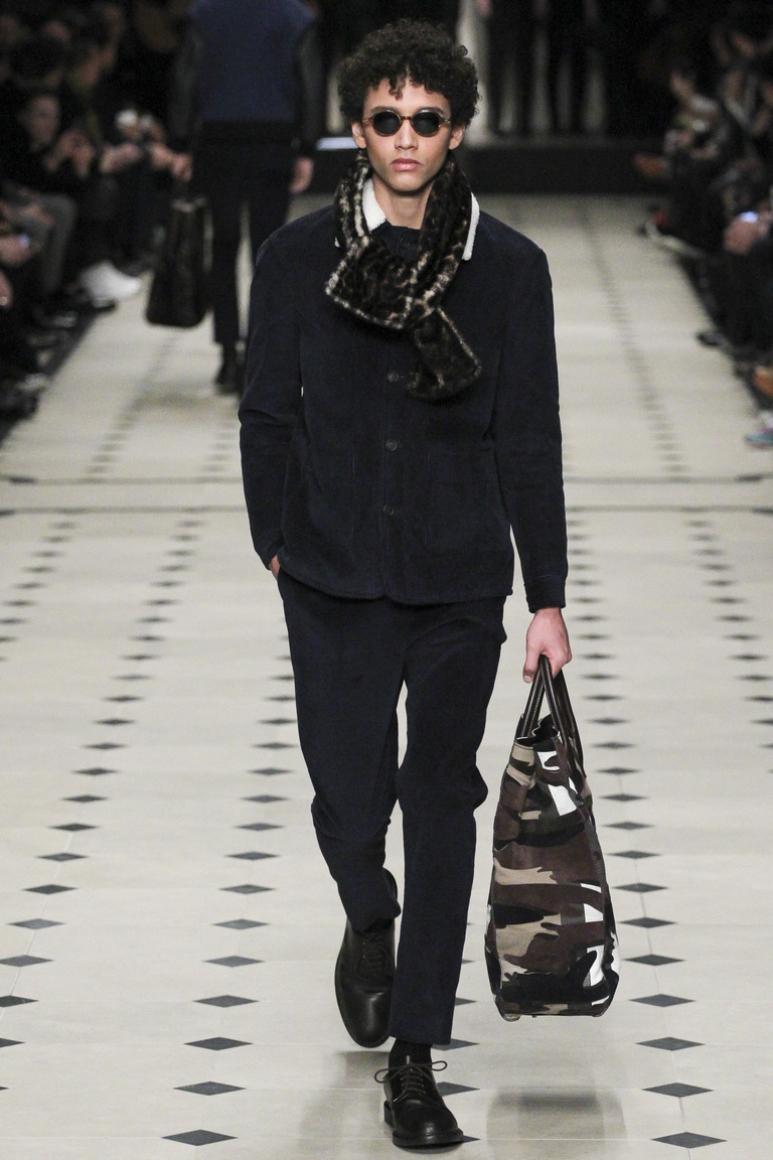 Burberry Prorsum Menswear осень-зима 2015/2016 #20