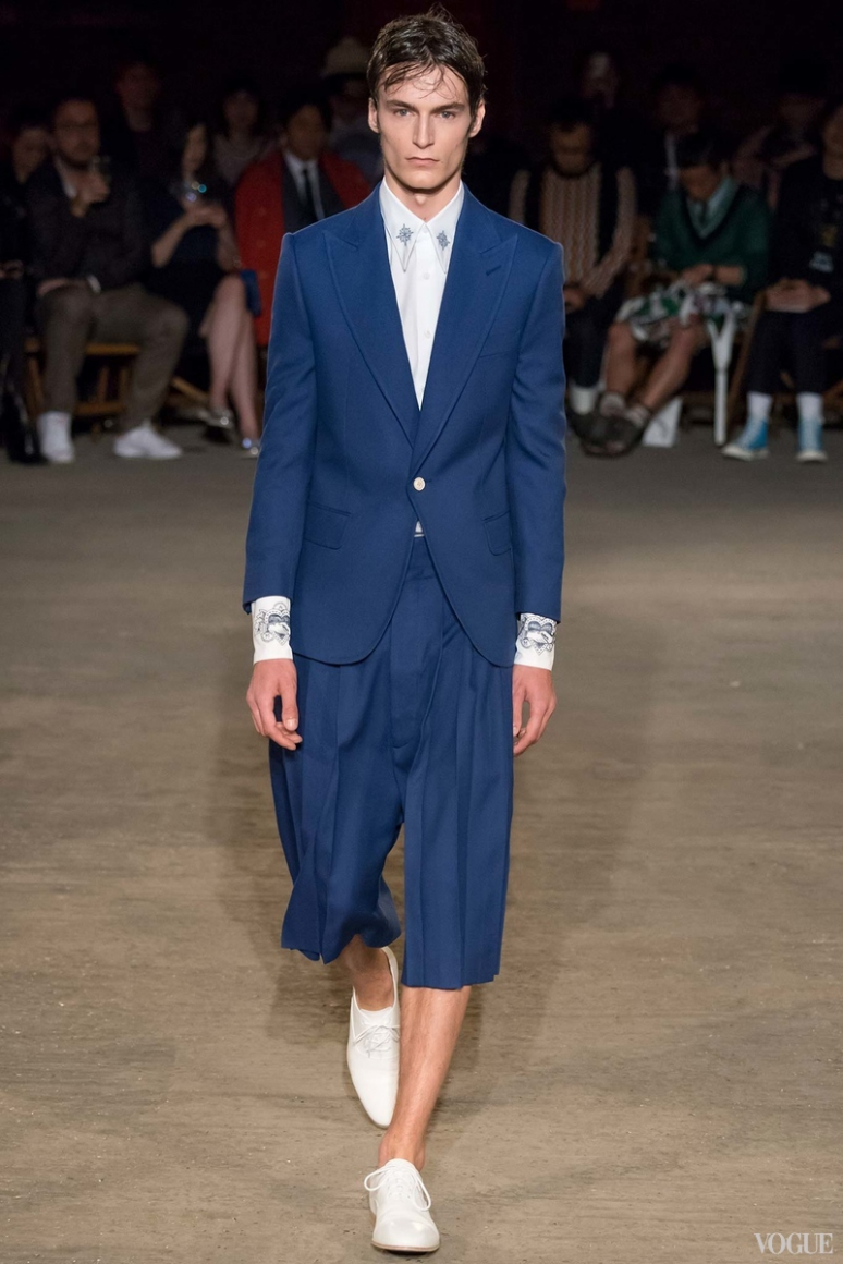 Alexander McQueen Menswear весна-лето 2016 #26