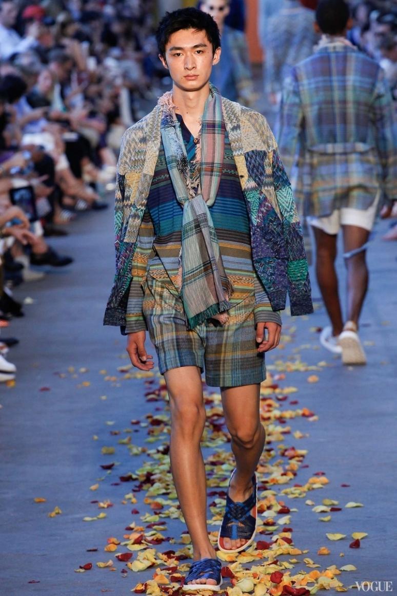 Missoni Menswear весна-лето 2016 #23