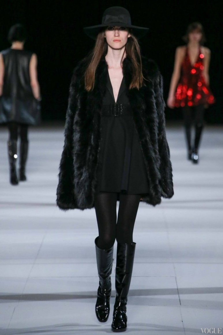 Saint Laurent осень-зима 2014/2015 #5