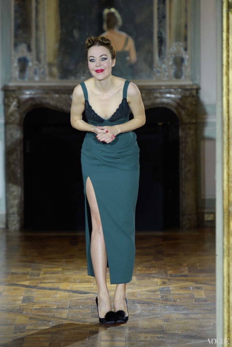 Ulyana Sergeenko Couture осень-зима 2015/2016 #1