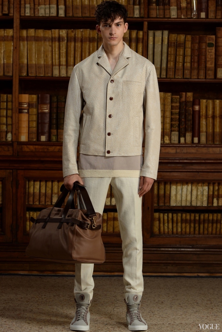 Trussardi Menswear весна-лето 2016 #13