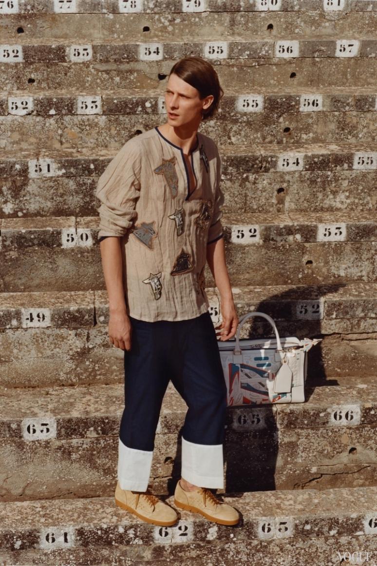 Loewe Menswear весна-лето 2016 #14
