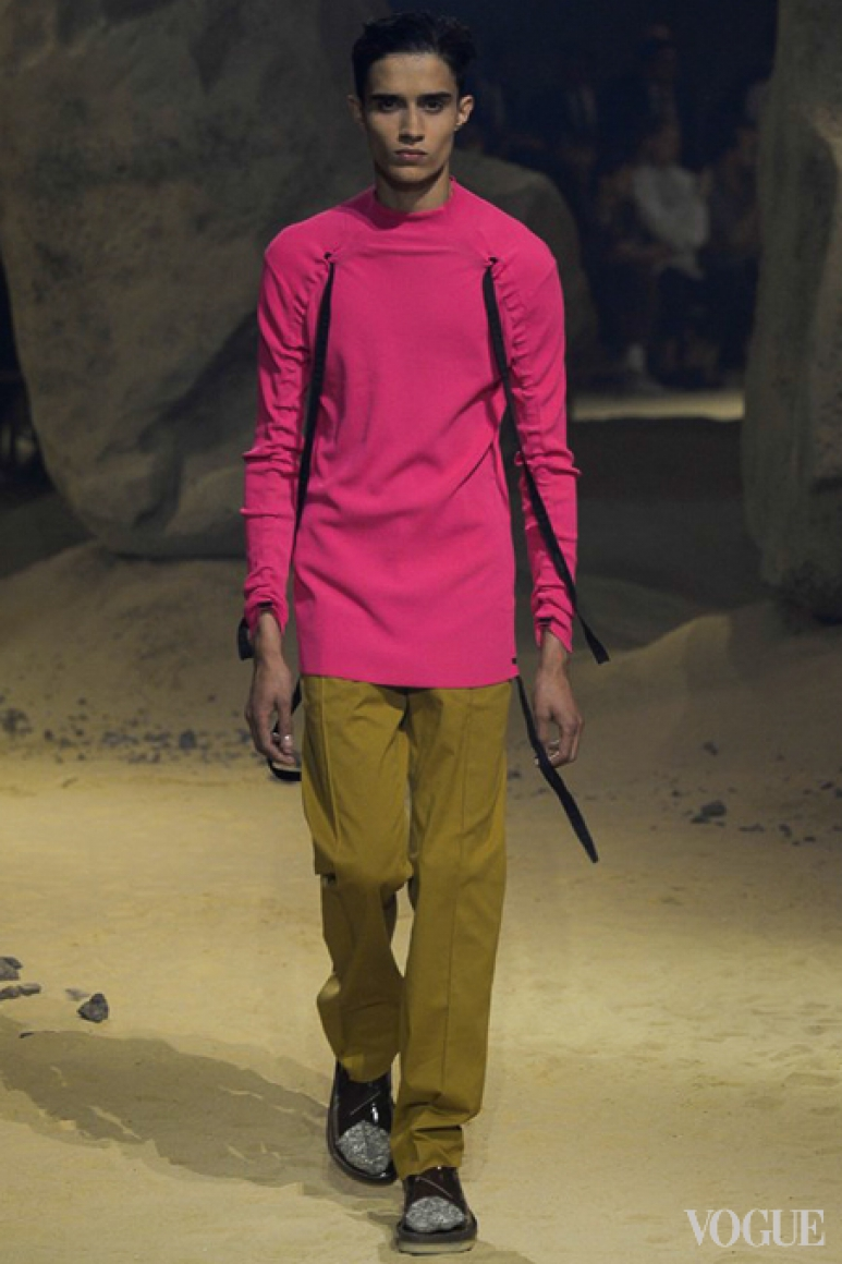 Kenzo Menswear весна-лето 2016 #24