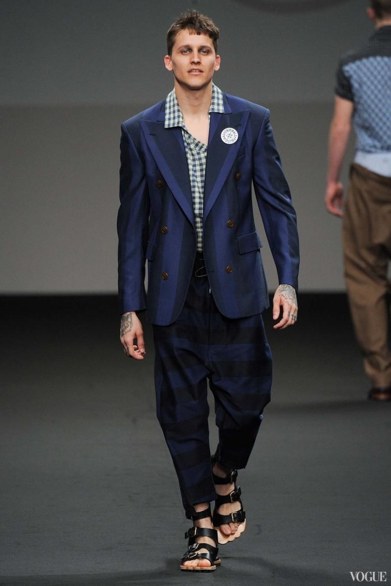 Vivienne Westwood Menswear весна-лето 2016 #12