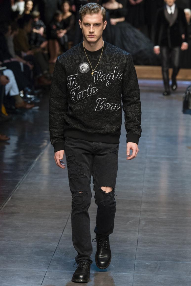 Dolce & Gabbana Menswear осень-зима 2015/2016 #9