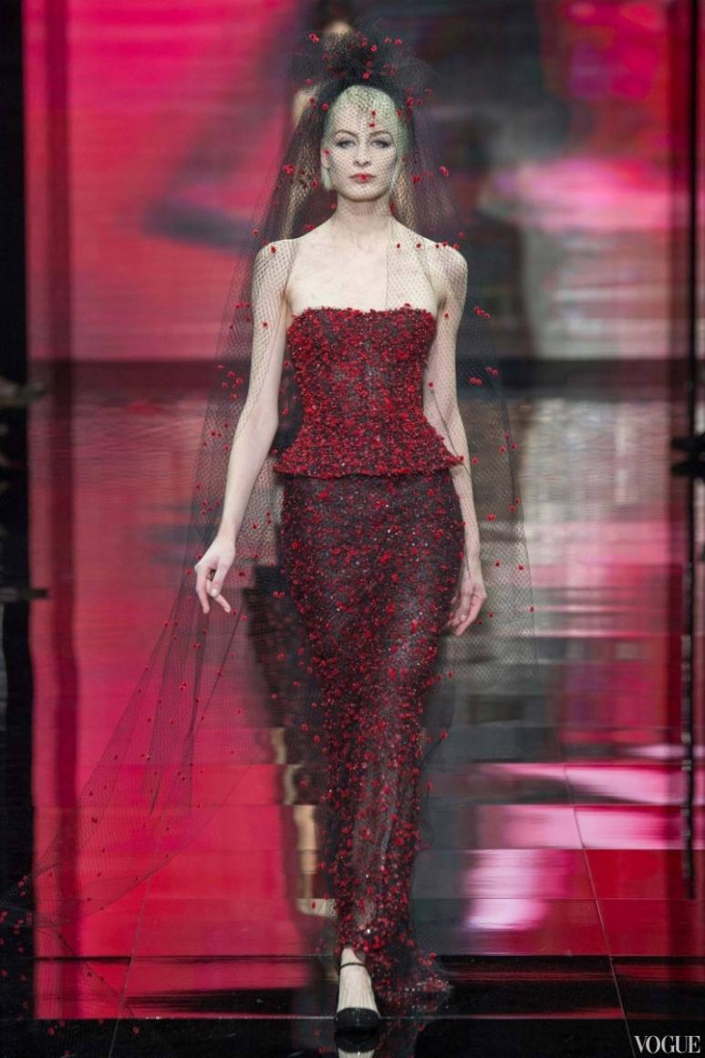 Armani Priv? Couture осень-зима 2014/2015 #12
