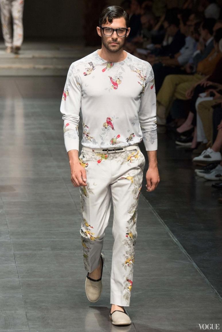 Dolce & Gabbana Menswear весна-лето 2016 #40