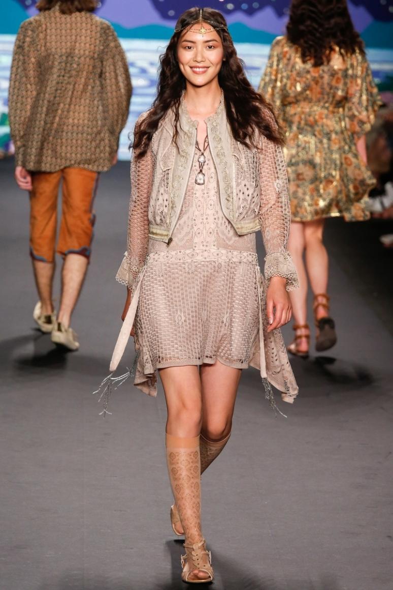 Anna Sui весна-лето 2014 #44