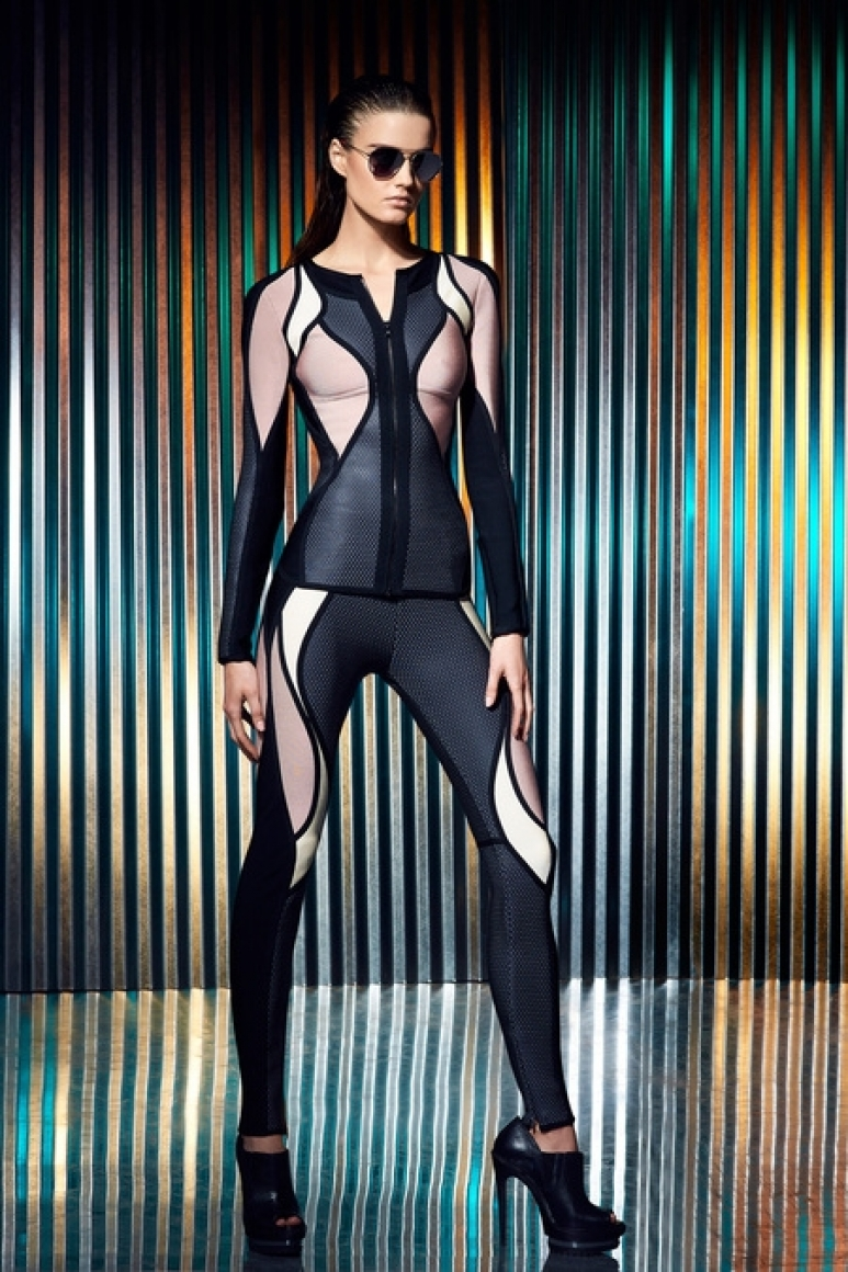 Herve Leger by Max Azria Resort 2014 #33