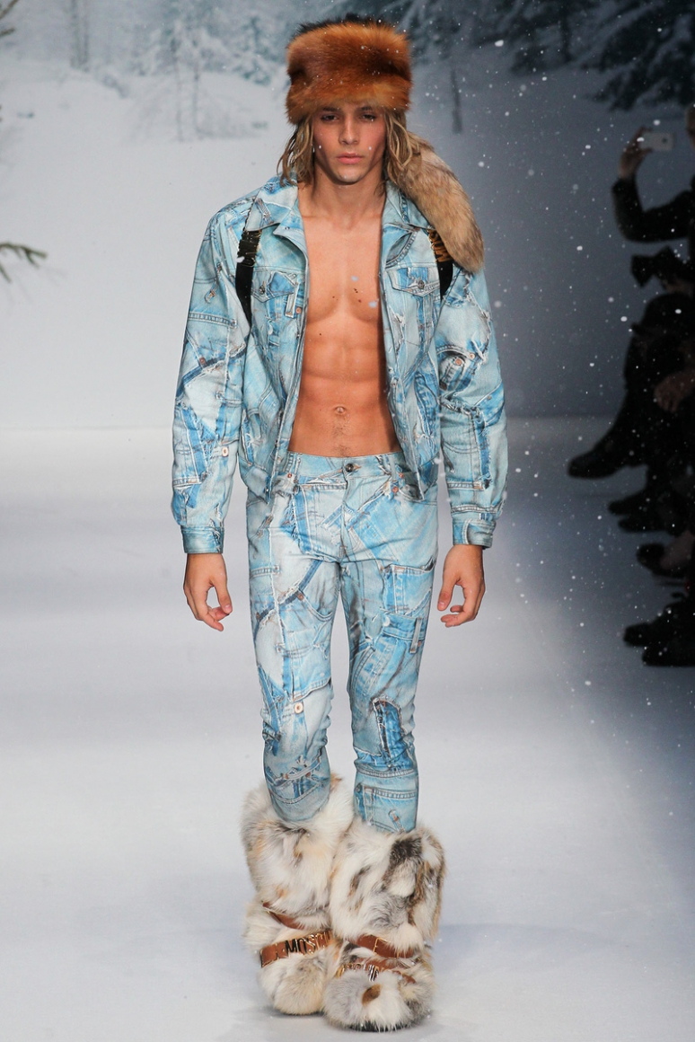 Moschino Menswear осень-зима 2015/2016 #54