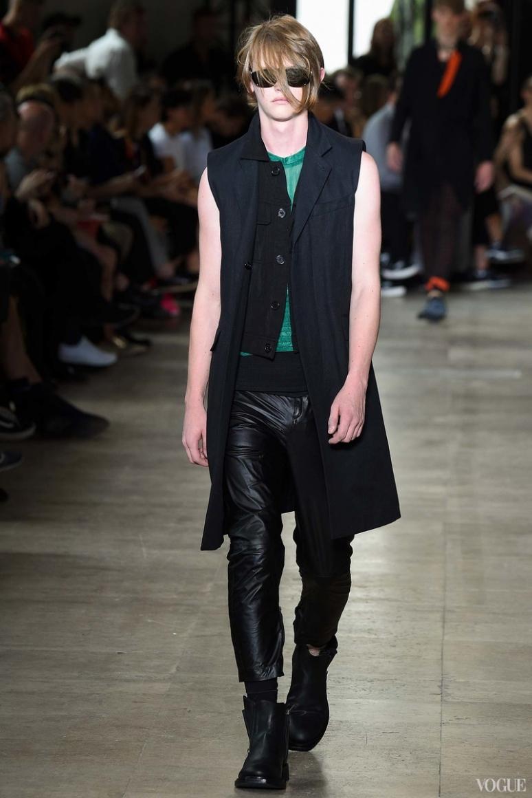 Ann Demeulemeester Menswear весна-лето 2016 #8