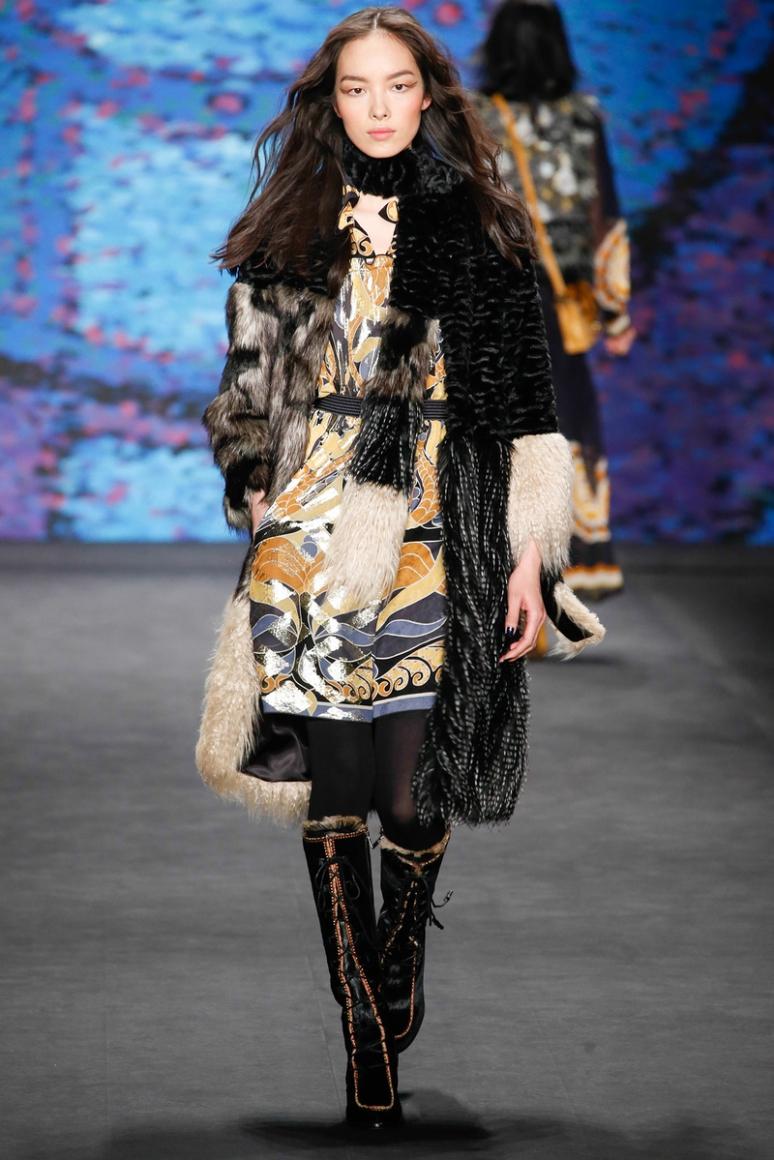 Anna Sui осень-зима 2015/2016 #49