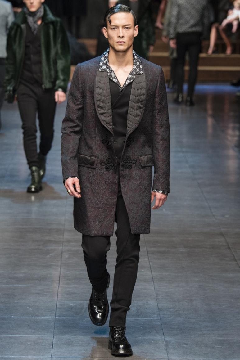 Dolce & Gabbana Menswear осень-зима 2015/2016 #28