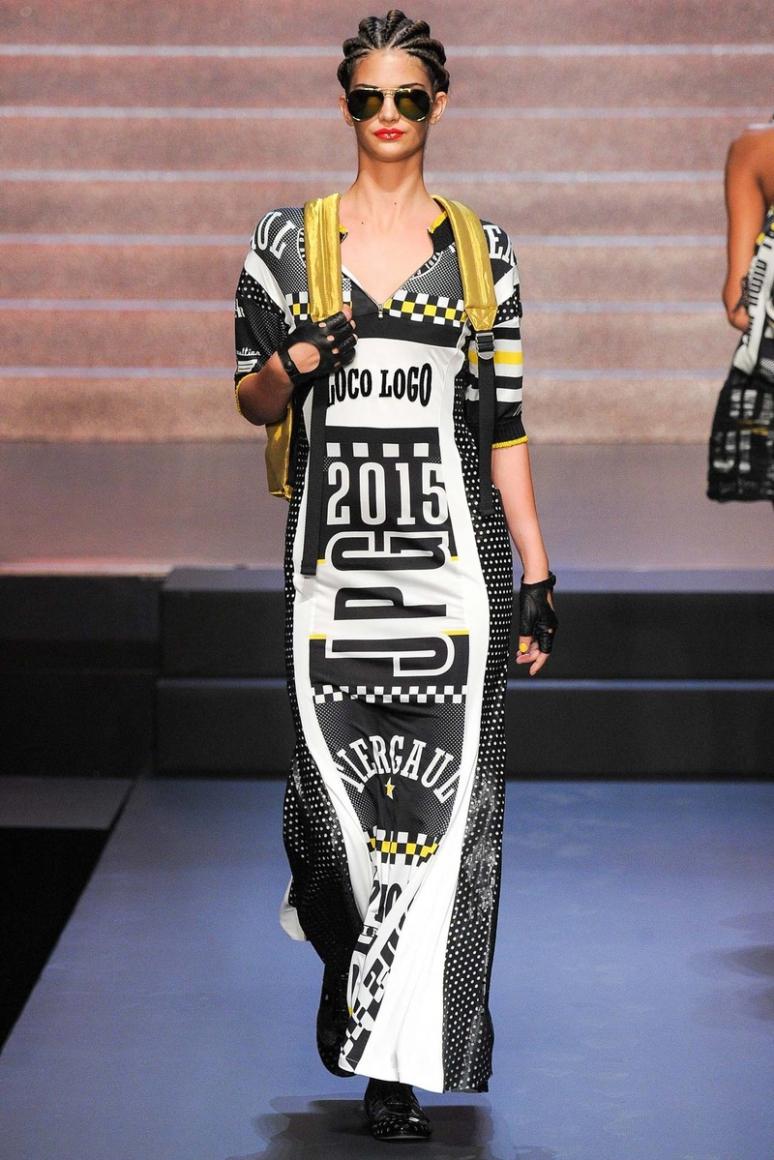 Jean Paul Gaultier весна-лето 2015 #58