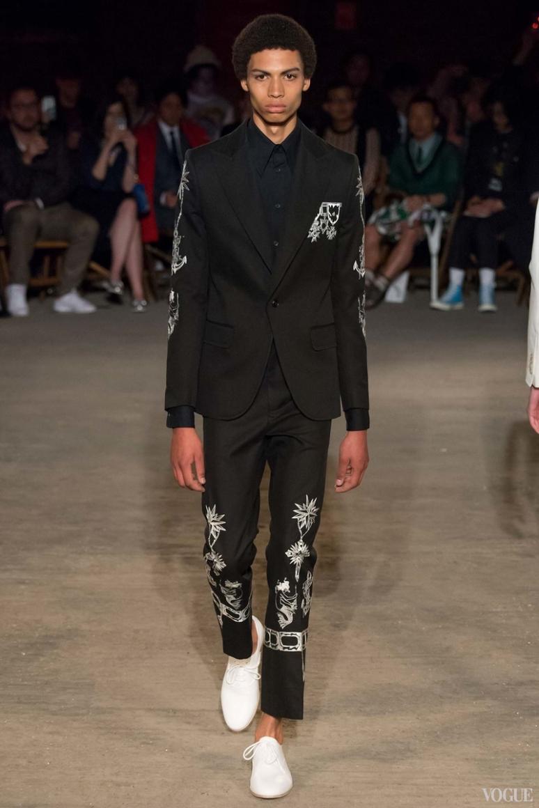 Alexander McQueen Menswear весна-лето 2016 #32