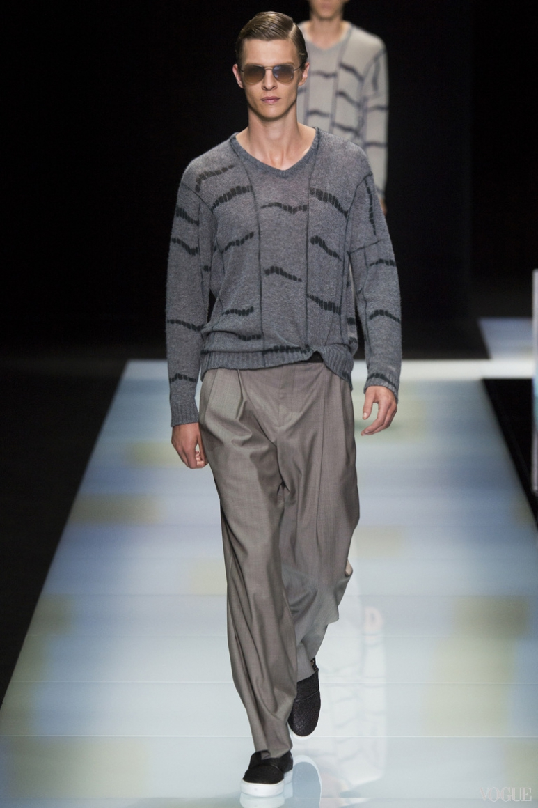 Giorgio Armani Menswear весна-лето 2016 #35