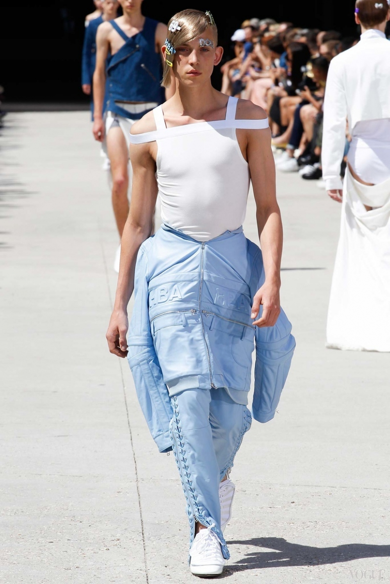 Hood by Air Menswear весна-лето 2016 #34
