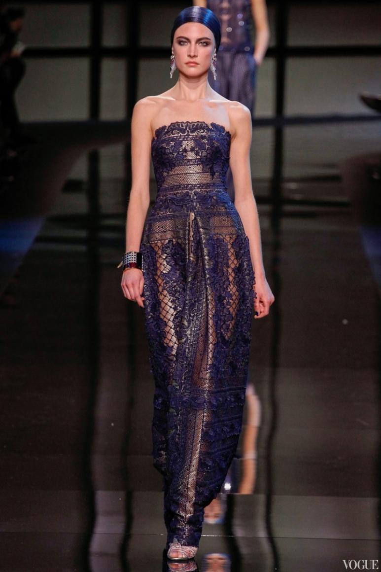 Armani Priv? Couture весна-лето 2014 #29
