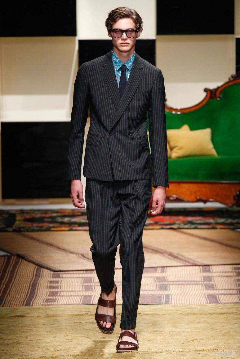 Salvatore Ferragamo Menswear весна-лето 2016 #31