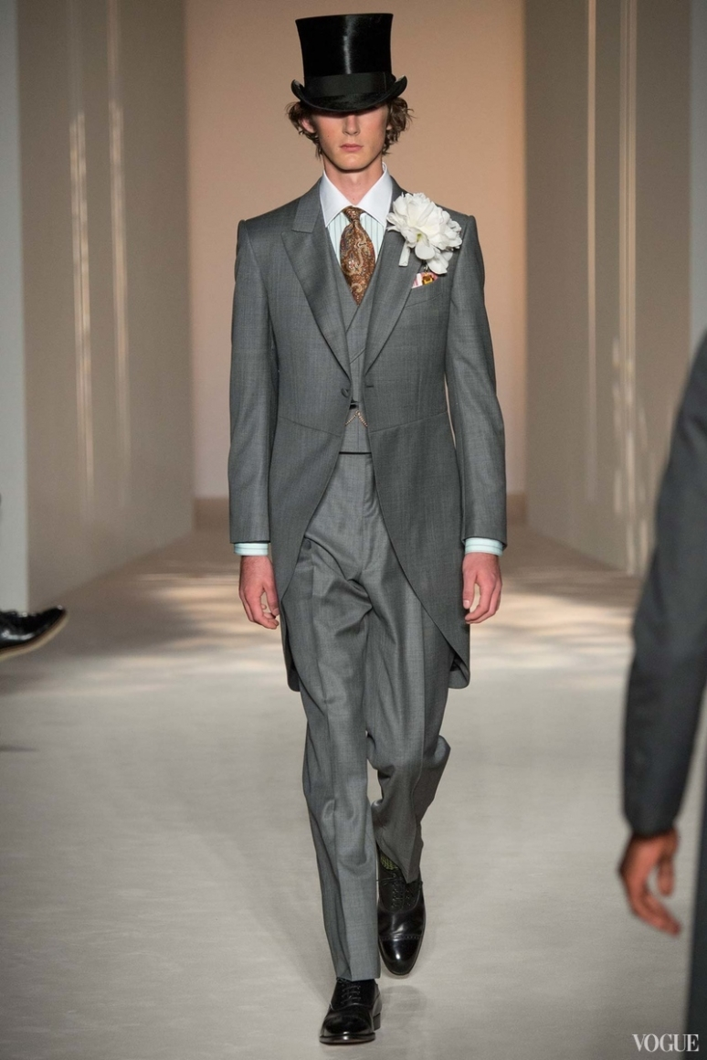 Dunhill Menswear весна-лето 2016 #32