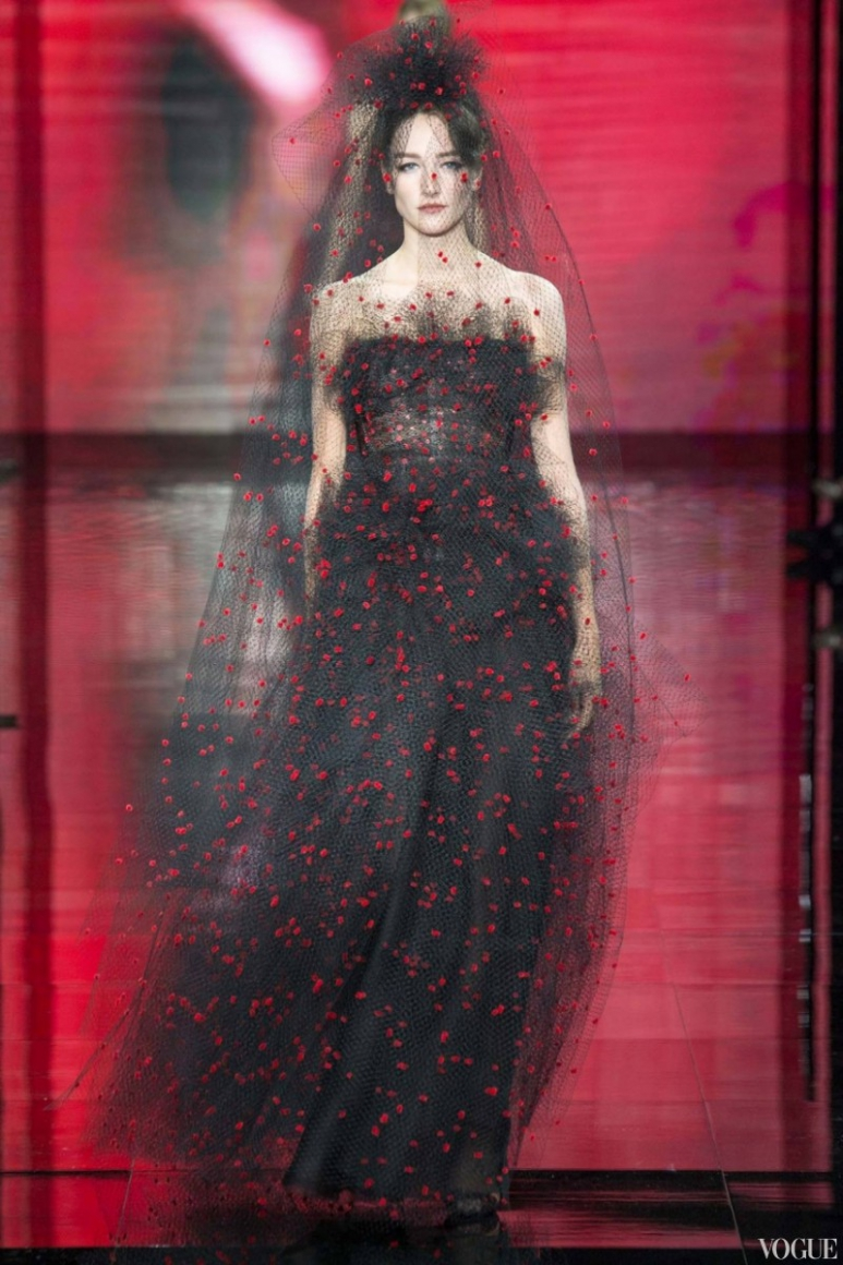 Armani Priv? Couture осень-зима 2014/2015 #14