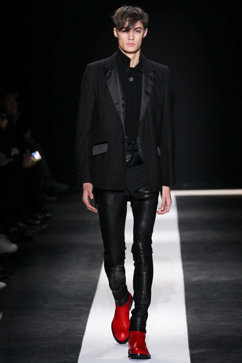 Ann Demeulemeester Menswear осень-зима 2015/2016 #3