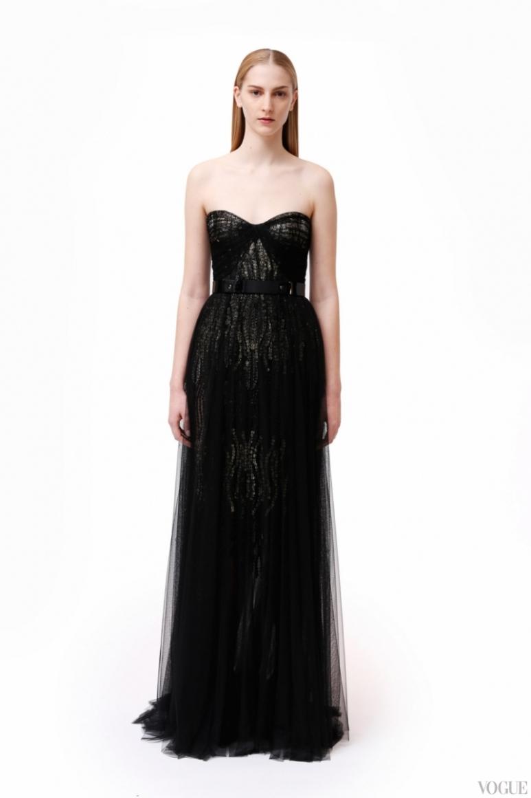 Monique Lhuillier Couture весна-лето 2013 #7