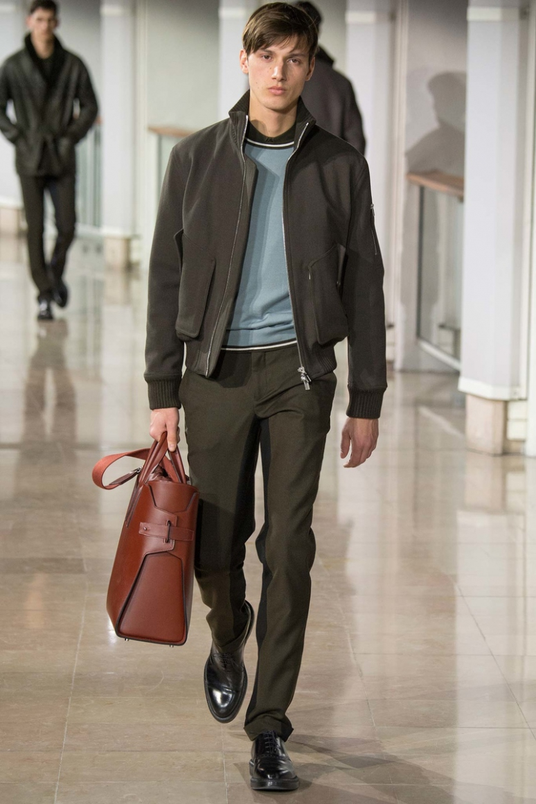 Hermes Menswear осень-зима 2015/2016 #24