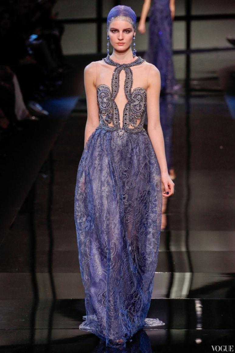 Armani Priv? Couture весна-лето 2014 #25