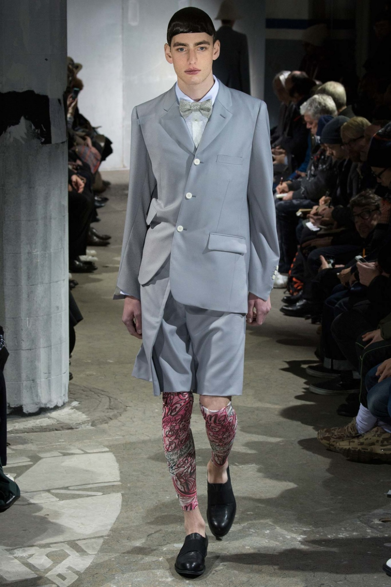 Comme des Gar?ons Menswear осень-зима 2015/2016 #31