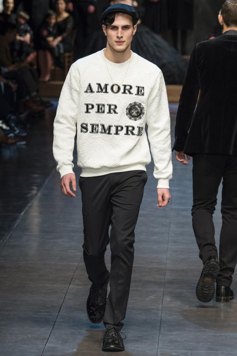 Dolce & Gabbana Menswear осень-зима 2015/2016 #3