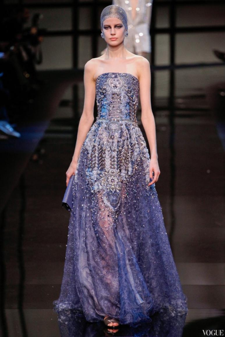 Armani Priv? Couture весна-лето 2014 #11