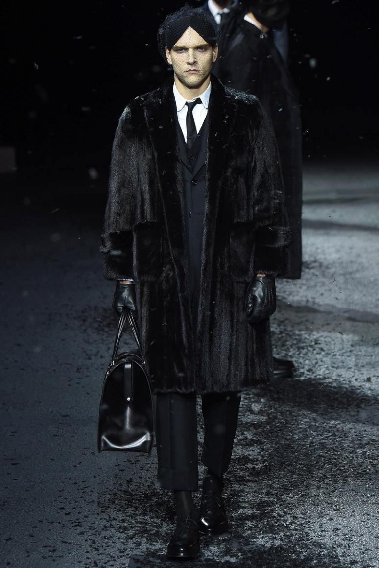 Thom Browne Menswear осень-зима 2015/2016 #20