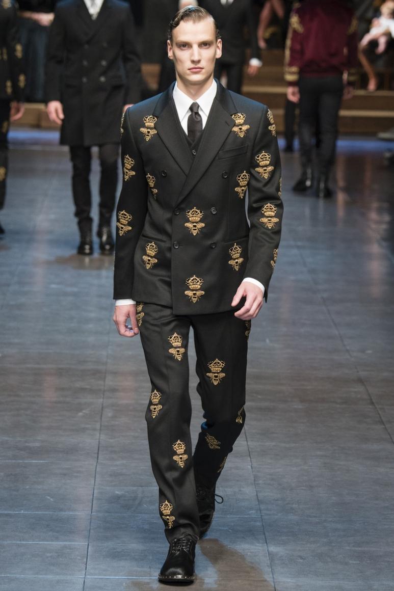 Dolce & Gabbana Menswear осень-зима 2015/2016 #58
