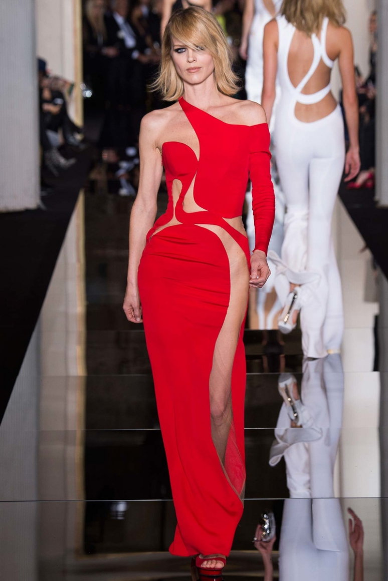 Atelier Versace Couture весна-лето 2015 #4