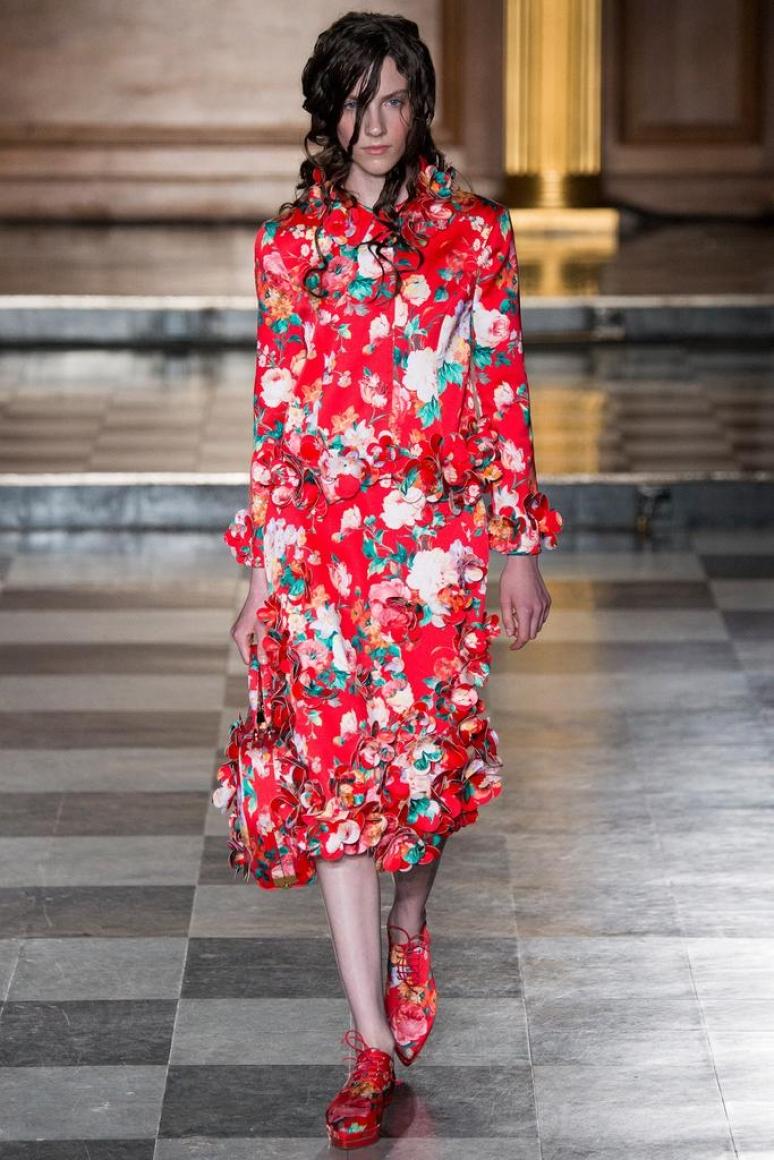 Simone Rocha весна-лето 2015 #25