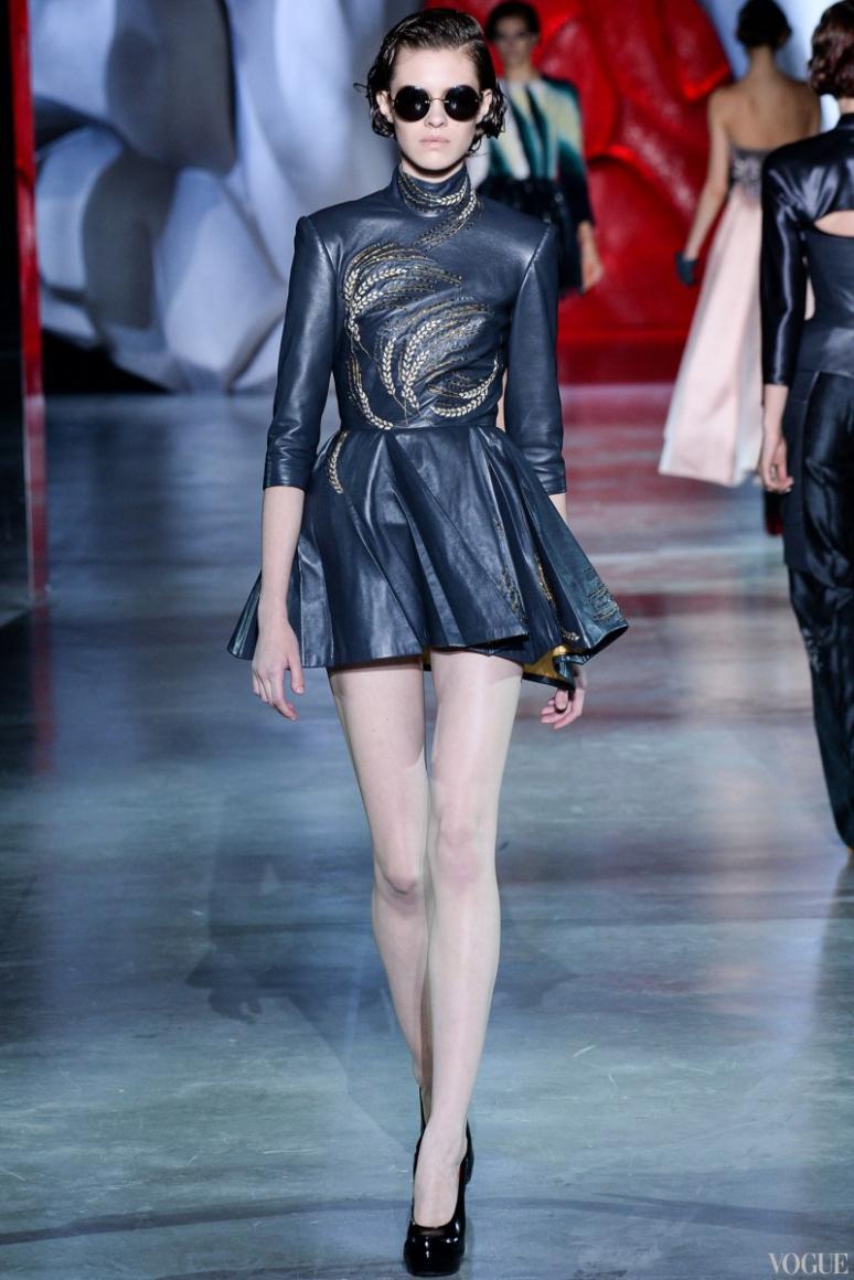 Ulyana Sergeenko Couture осень-зима 2014/2015 #32