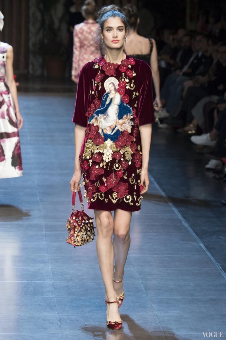 Dolce & Gabbana весна-лето 2016 #35