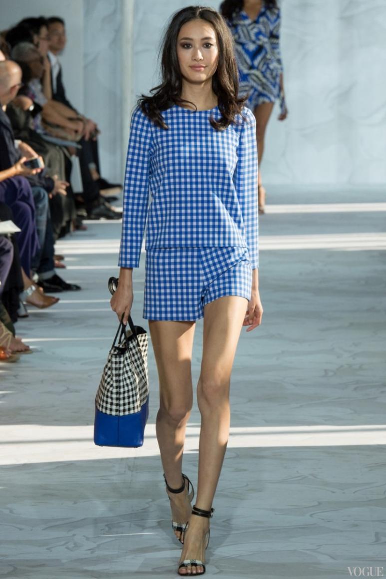 Diane Von Furstenberg весна-лето 2015 #15