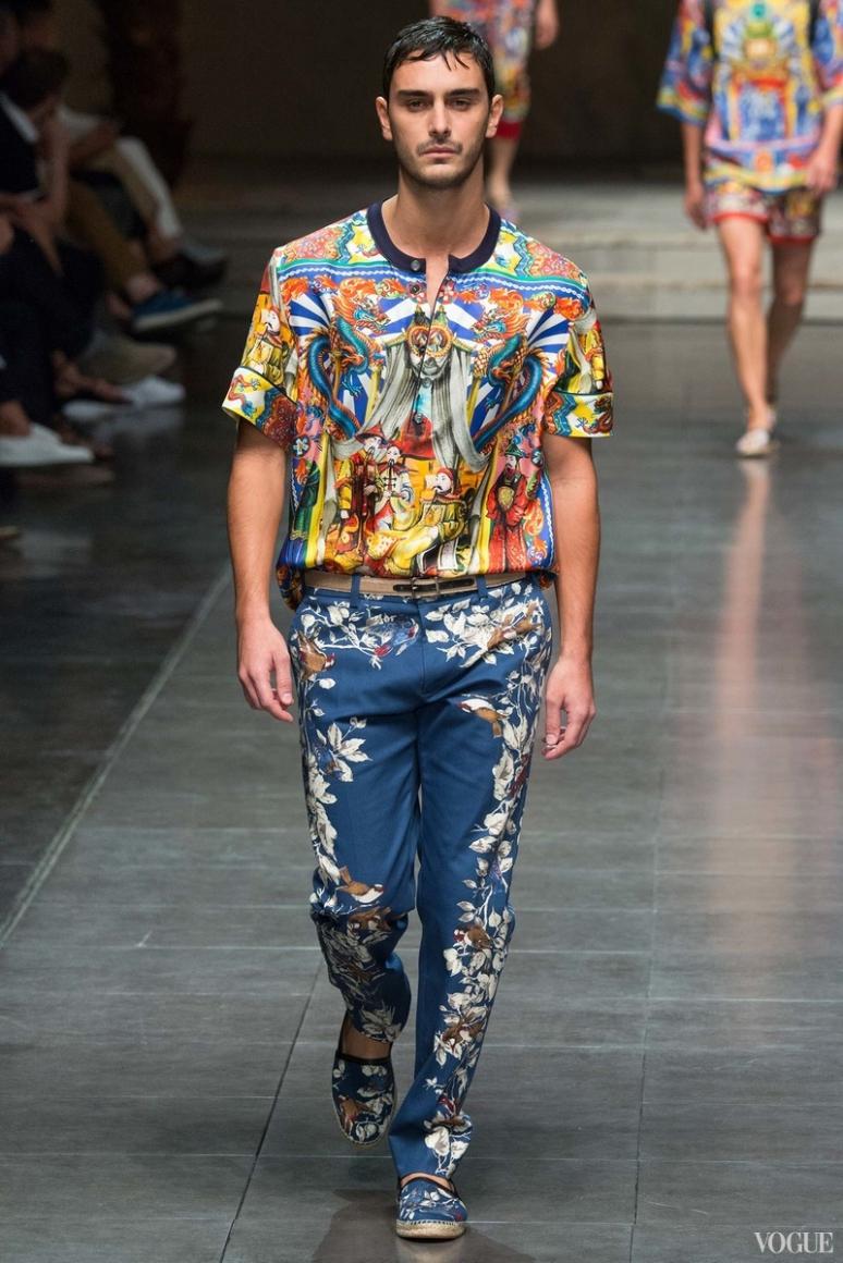 Dolce & Gabbana Menswear весна-лето 2016 #8