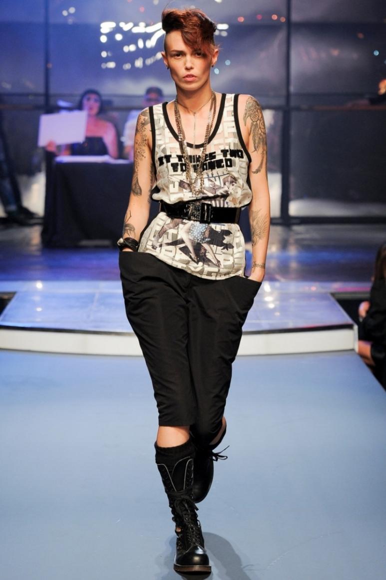 Jean Paul Gaultier весна-лето 2014 #1