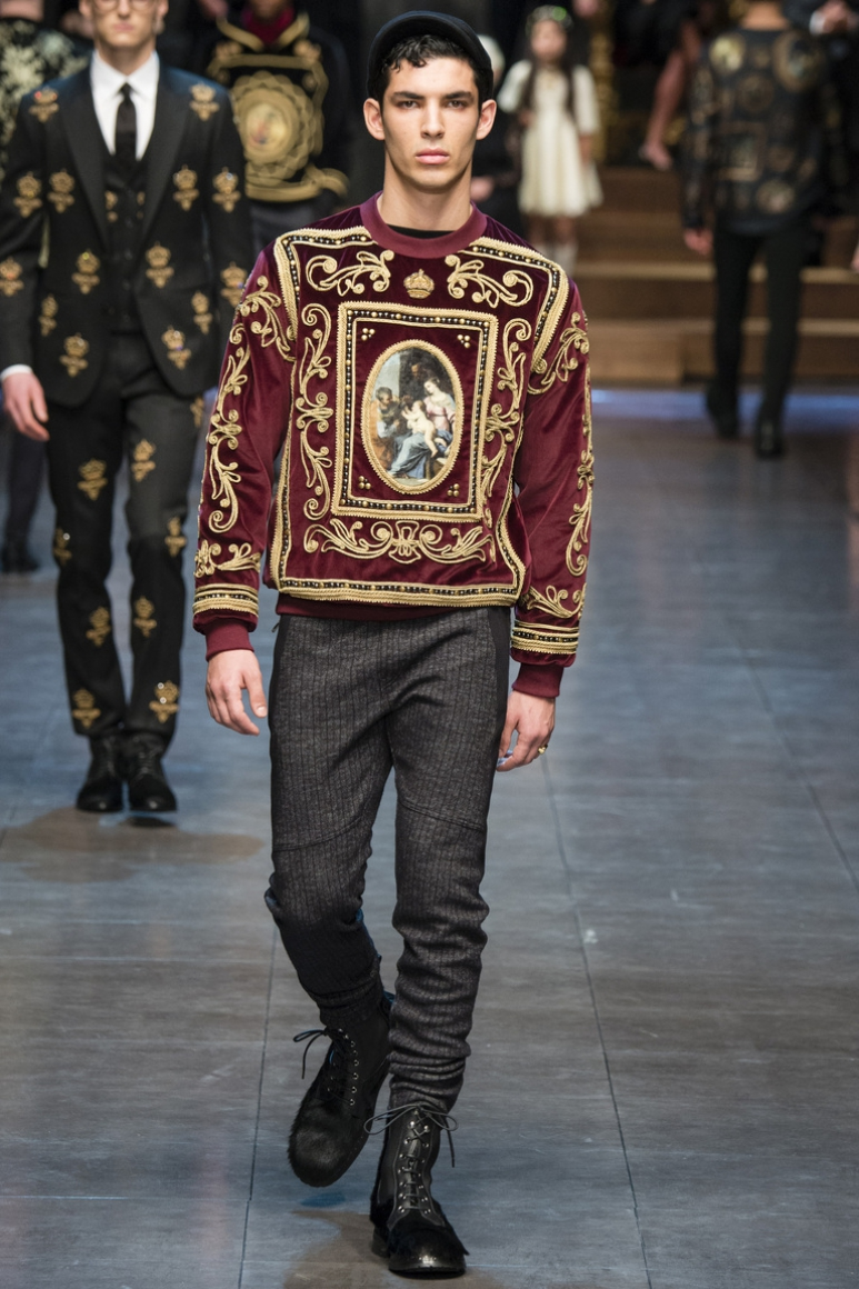 Dolce & Gabbana Menswear осень-зима 2015/2016 #61